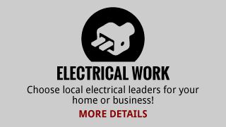 Electrical Work | Choose local electrical leaders for your home or business! | More Details